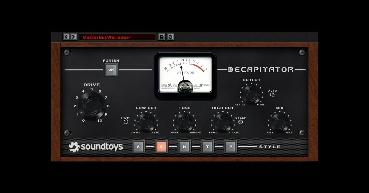 Decapitator - Soundtoys